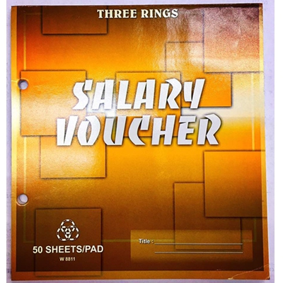 THREE RINGS SALARY VOUCHER (3R-W8811)