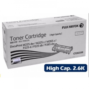 Fuji Xerox Original TONER CARTRIDGE ( CT202330 ) HIGH CAPACITY